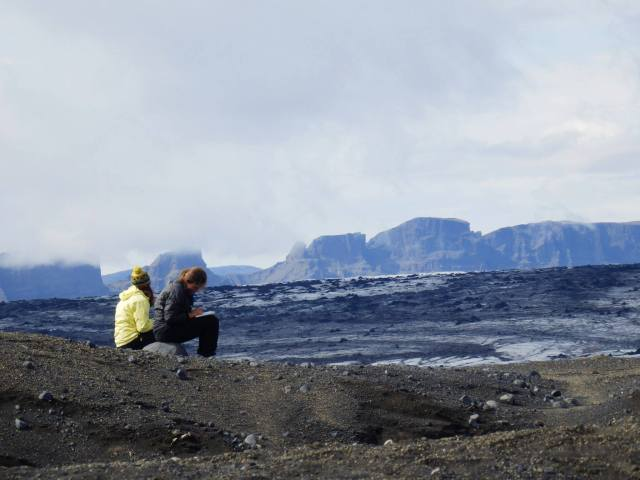 Geologizing in Iceland
