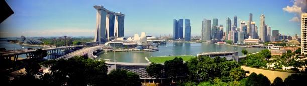 Breathtaking Singapore Skyline