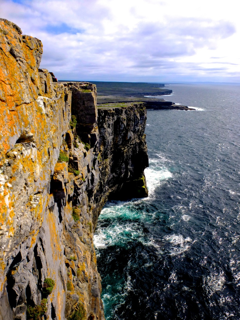 Cliffs at the Aran Islands