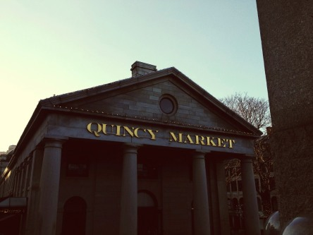 Exploring Quincy Market