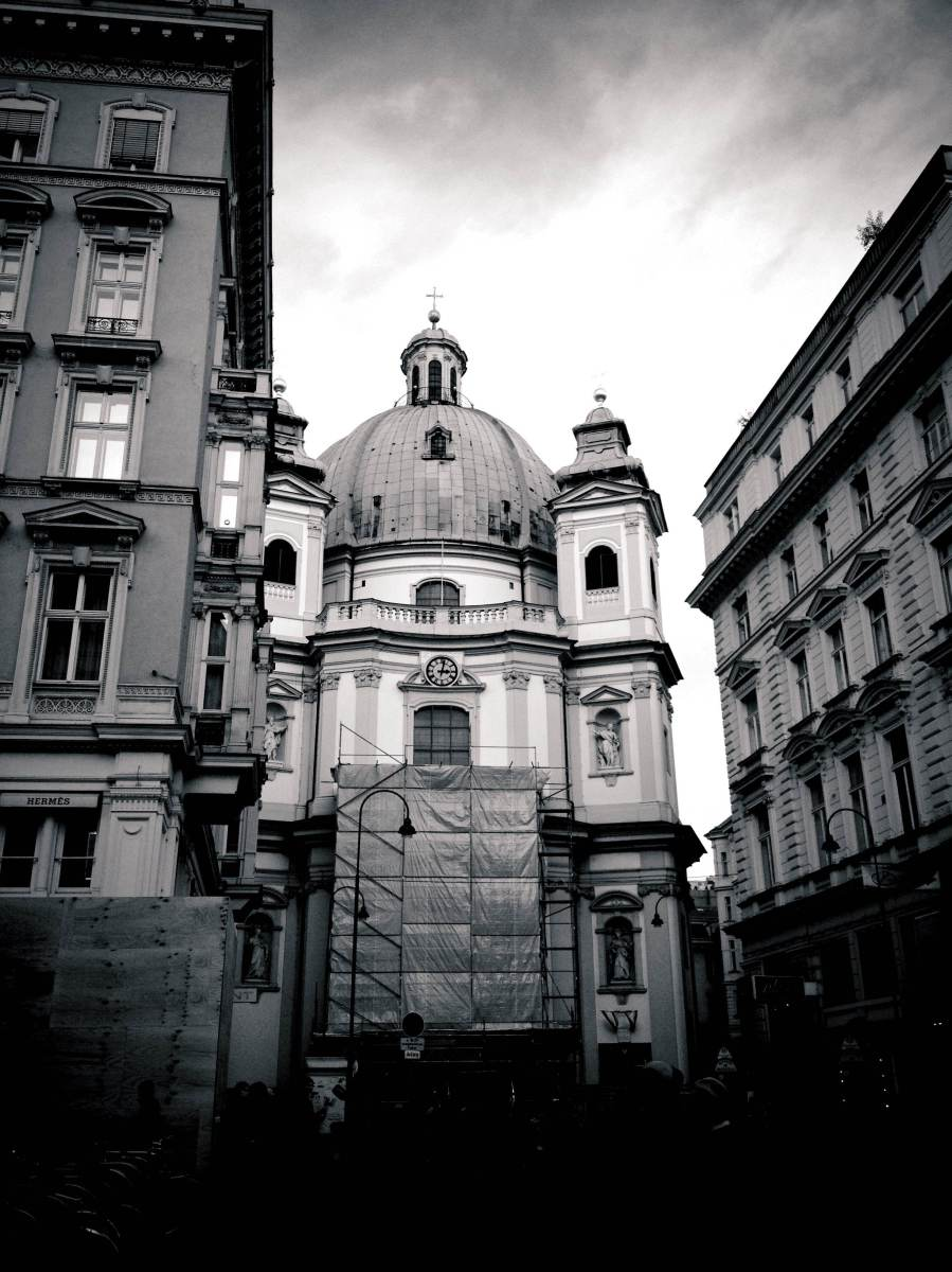 Vienna in Black and White.