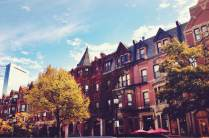 Fall on Newbury St.