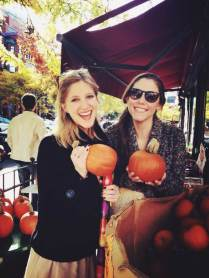 Pumpkins on Newbury