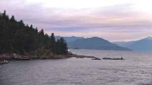 On the ferry to Vancouver Island