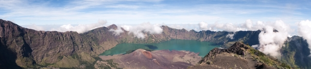 Mt Rinjani Panorama