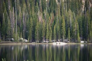 Blue Lake, Flattops, Colorado