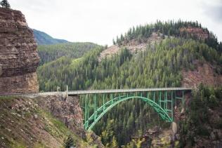 Red Cliff Bridge, Colorado