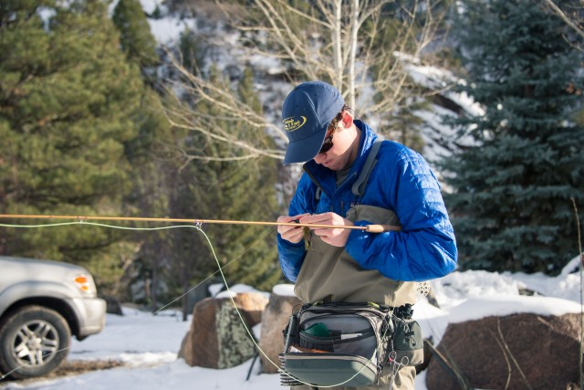 Fly Fish Prepping