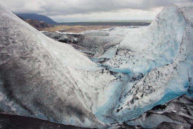 Vatnajökull Glacier Outlet