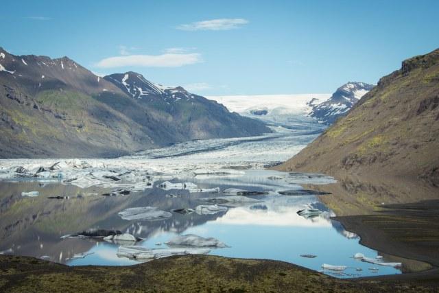 Vatnajökull Outlet Glacier