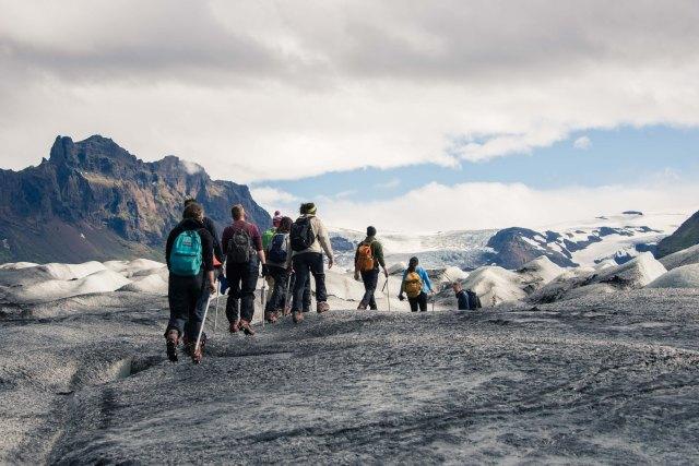 Skaftafellsjökul Glacier, Iceland