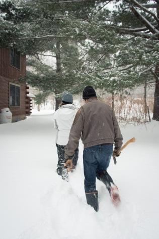 Snow, Chichester New York