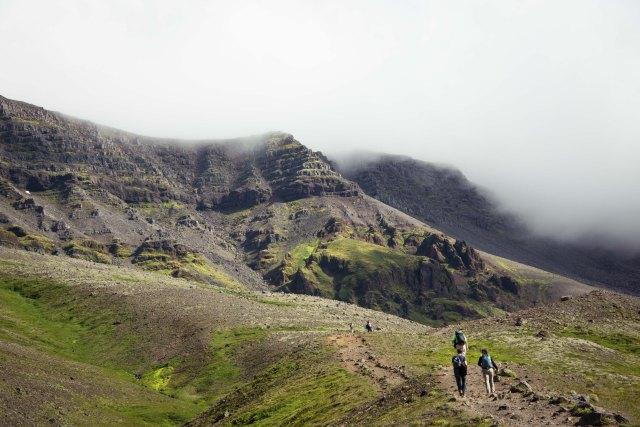Esja Hike, Iceland
