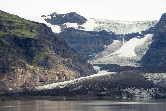 Ice falls, Iceland
