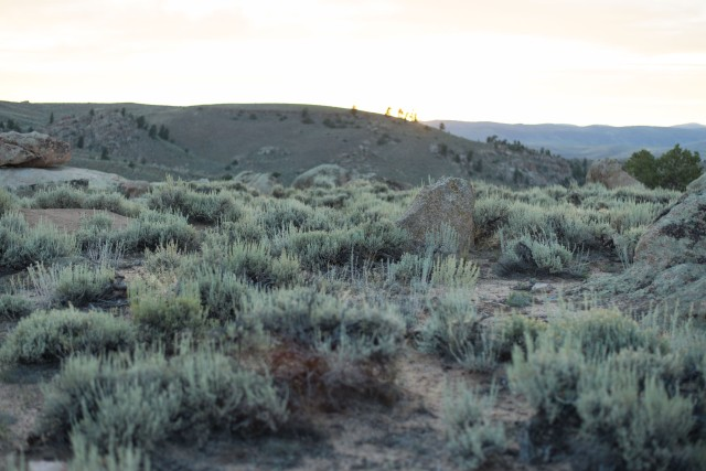Sunset, Hartman Rocks