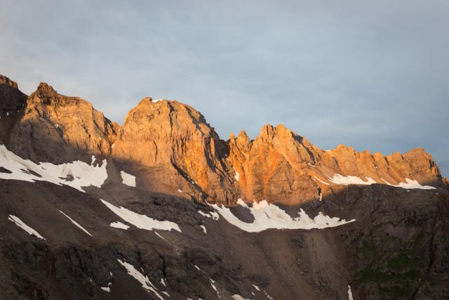 Sunrise on the Sneffels Range
