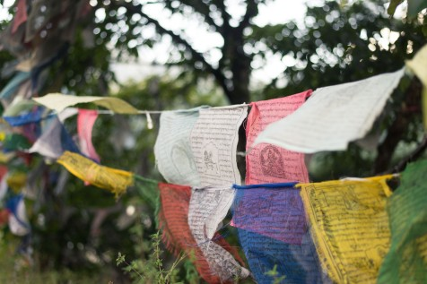 Colorful Prayer Flags, Bhutan