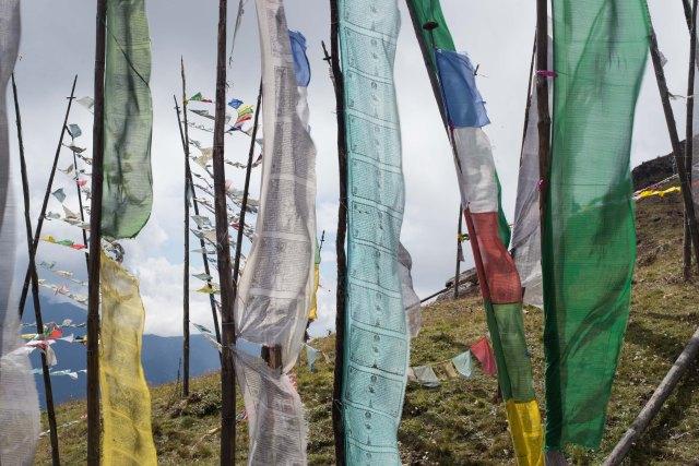 Prayer Flags, Bumthang Bhutan