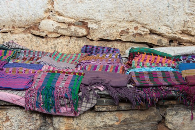 Colorful scarves, Bhutan