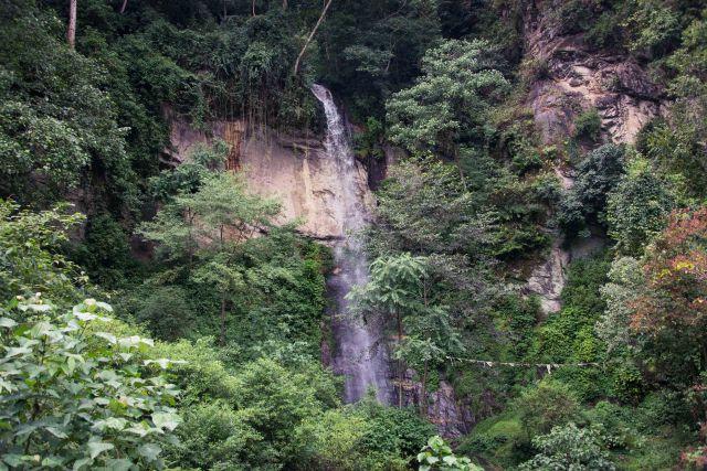 Waterfall, Jigme Dorji National Park Bhutan
