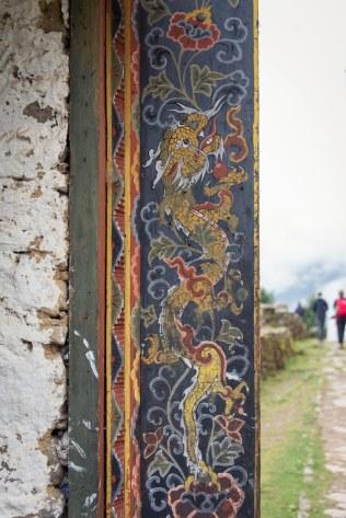 Dragon Painting, Bhutan