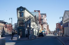 Colorful buildings in Portland, Maine